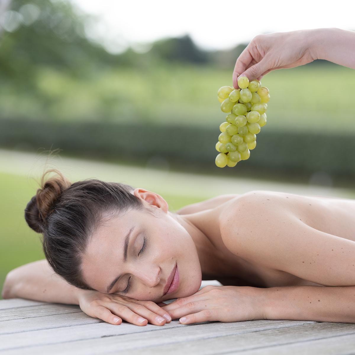 Voucher-presente Spa: ritual 100% uvas